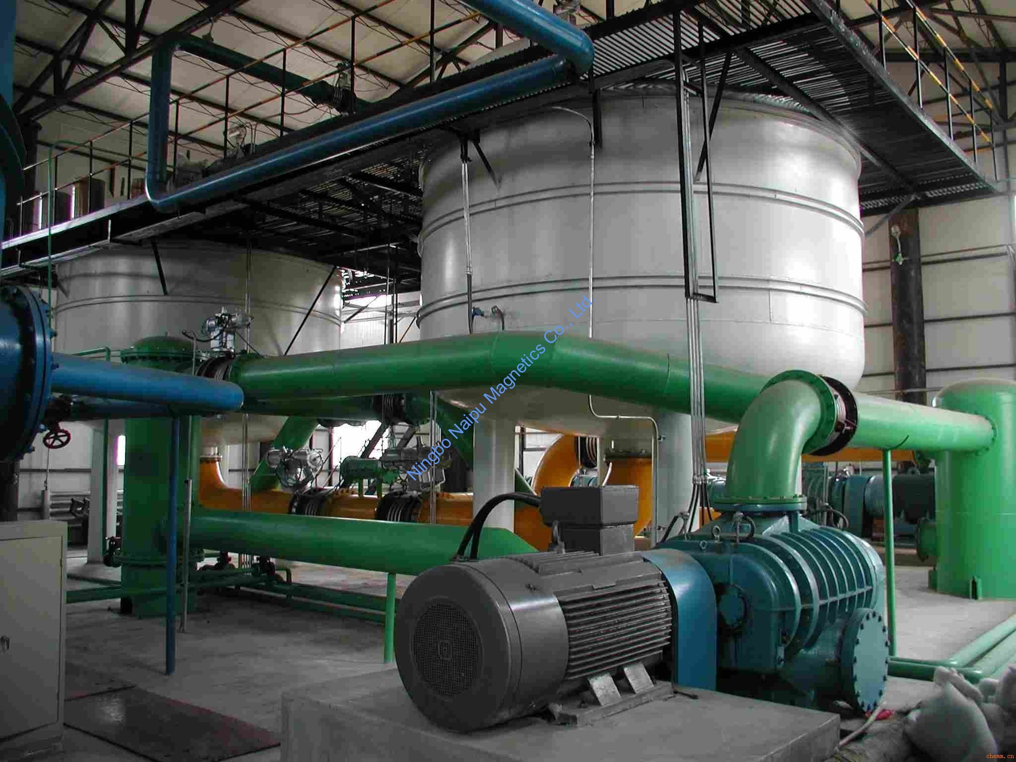 Application of Fluid Separator in Pulp Production Line